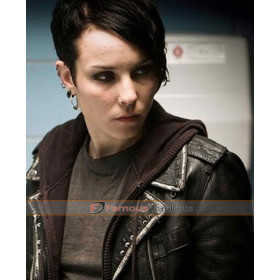 Girl With The Dragon Tattoo Lisbeth Salander Leather Jacket