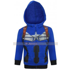 Infinity War Captain America Hoodie Avengers Chris Evans Cotton Costume Jacket