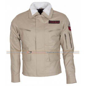 Ghostbusters 2016 Bill Murray Fur Collar Cotton Jacket