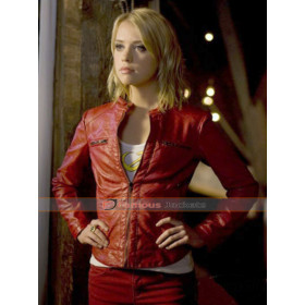 Smallville Alexz Johnson Saturn Jacket