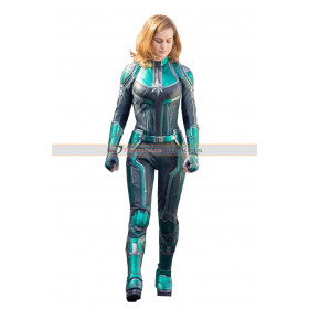 Captain Marvel Carol Danvers 2019 Leather Costume
