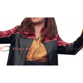 Judith Roddy TV Series Derry Girls Leather Jacket