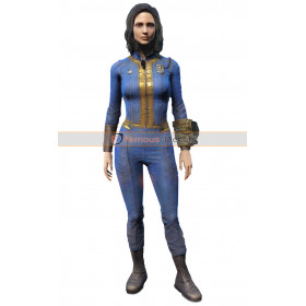 Video Game Fallout 111 Vault 4 Women Leather Jacket