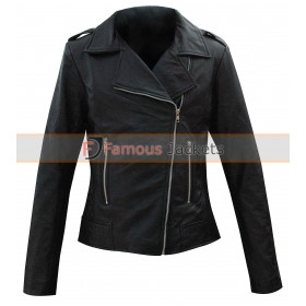Jennifer Aniston Black Wanderlust Jacket