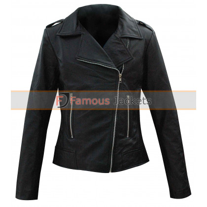 Jennifer Aniston Black Wanderlust Jacket