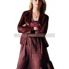 Justified Ava Crowder|Joelle Carter Leather Jacket