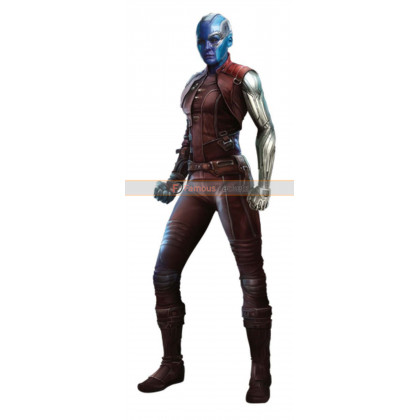 Avengers Infinity War Nebula Leather Costume