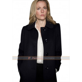 Stella Gibson The Fall Gillian Anderson Black Coat