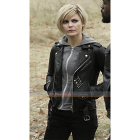 Keri Russell The Americans Elizabeth Jennings Black Leather Jacket