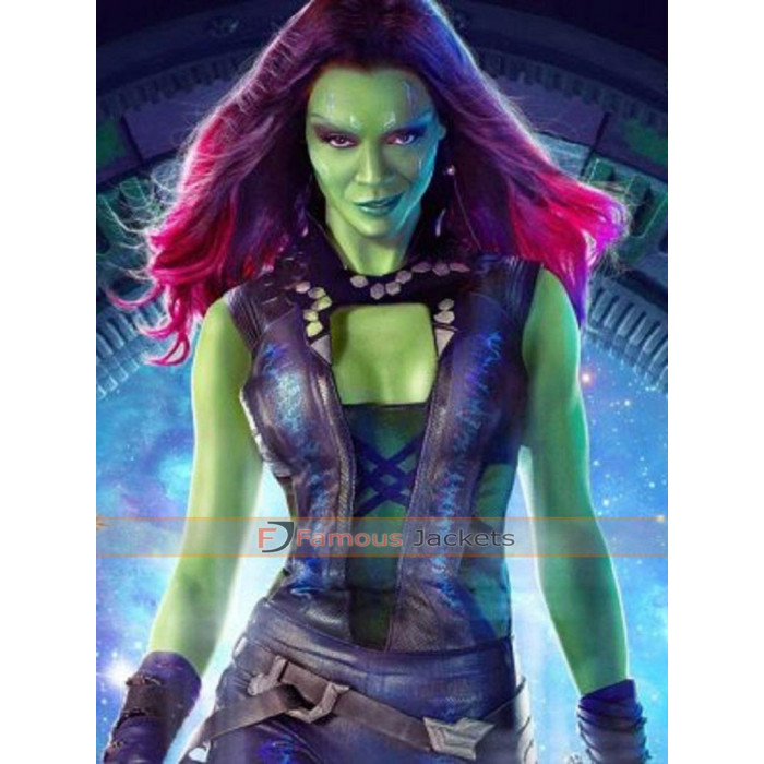 The Galaxy Gamora Zoe Saldana Costume Vest