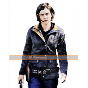 Walking Dead Lauren Cohan Cotton Jacket