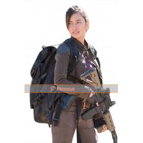 Walking Dead Christian Serratos Rosita Espinosa Jacket