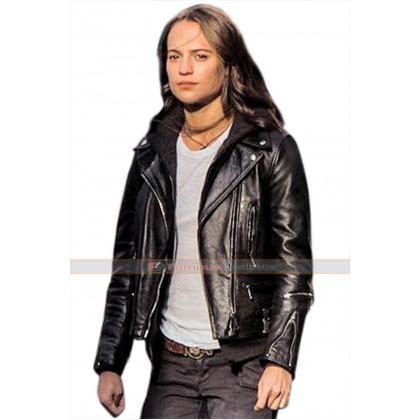 Lara Croft (Alicia Vikander) Tomb Raider Leather Jacket