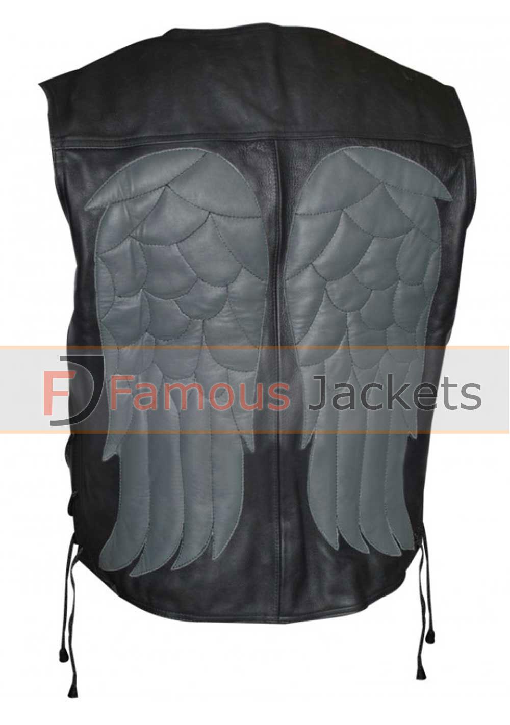 Walking Dead Daryl Dixon Darryl Leather Vest £ 123 Add To