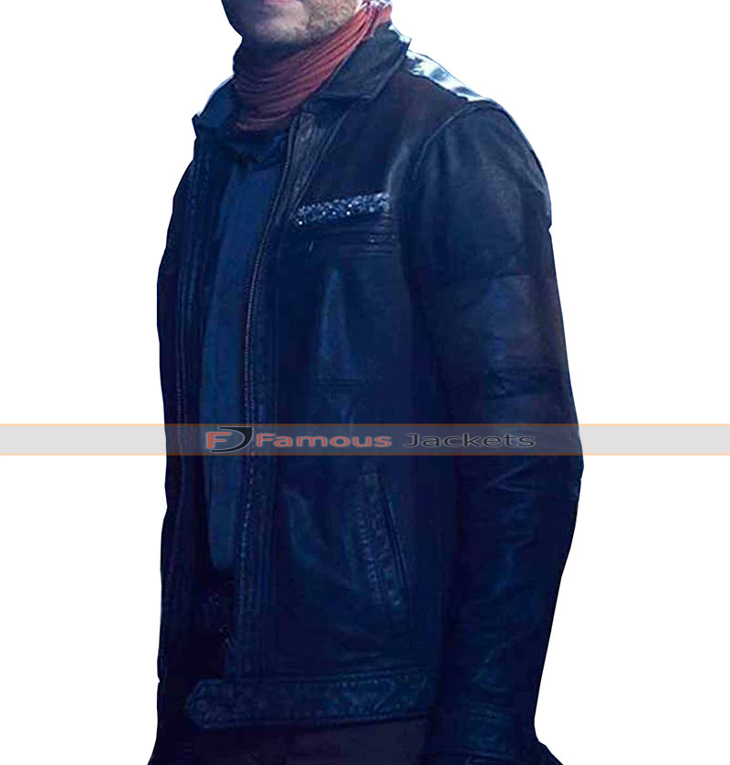 ab60c229a85 Agents Of Shield Leo Fitz Leather Jacket