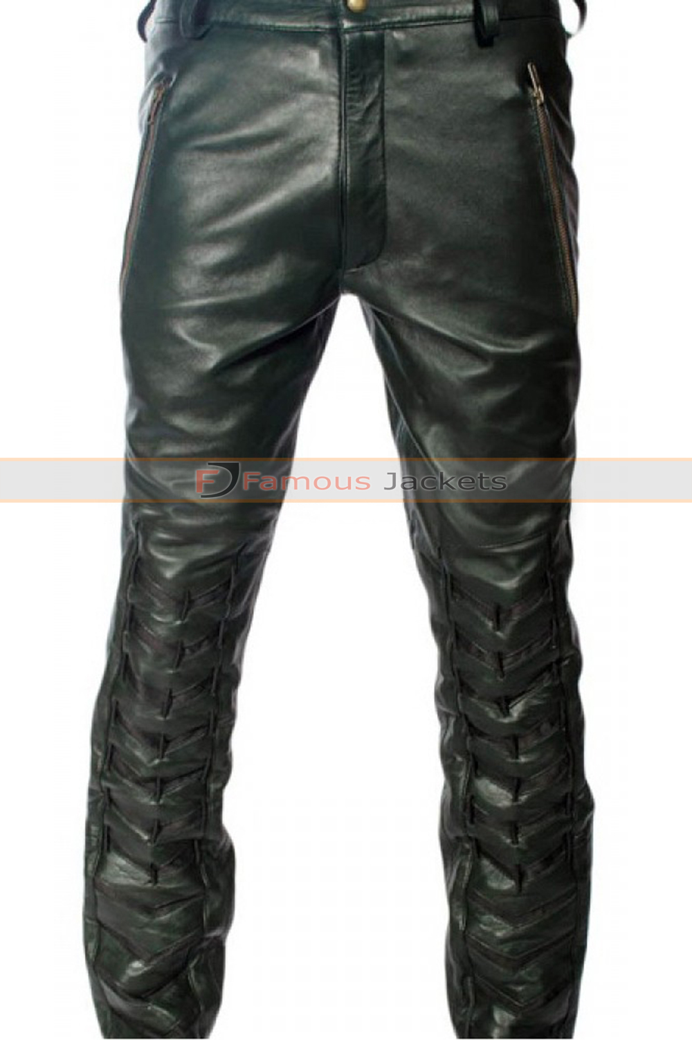 0e9f53c2a0481 Arrow S2 Stephen Amell (Oliver Queen) Black Leather Pants