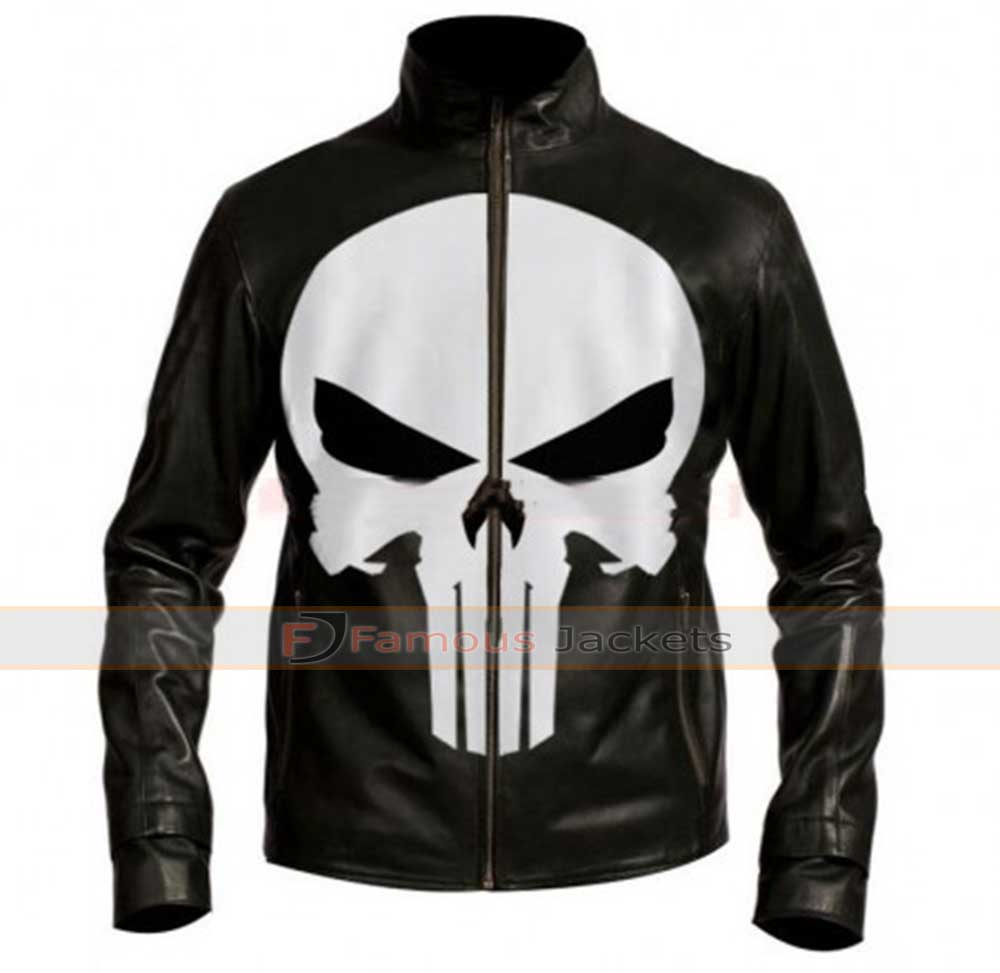 Leather jacket england